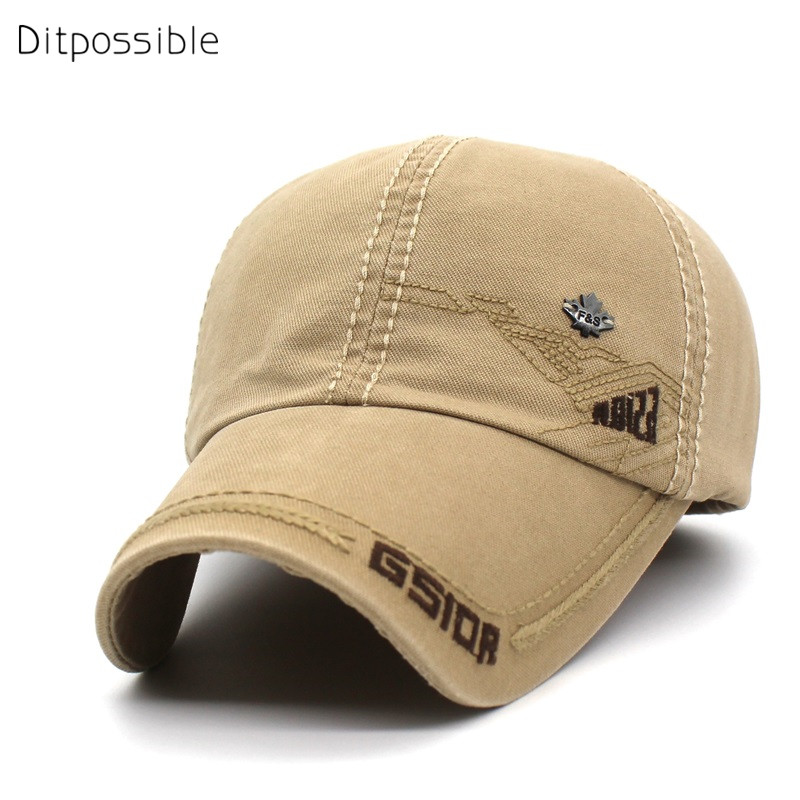 Ditpossible wholesale spring cotton cap men snapback baseball caps embroidery hat adjustable casual hats for men women luxury brand hat star flexfit baseball caps for men women casual mans hats snapback polyester cap creative summer winter spring
