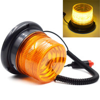 CYAN SOIL BAY Autos Magnetic LED Emergency Beacon Flash Strobe Warning Light Amber 40W Perfect