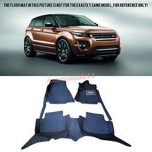Leather Floor Mats & Carpets For Land Rover Range Rover Evoque (4-Door) 11-16 дефлекторы окон skyline land rover range rover evoque 5d 2011 4 шт