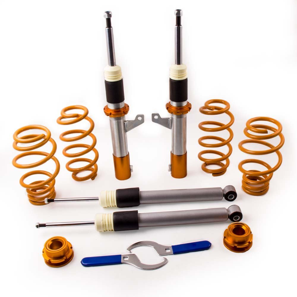 Coil Spring Strut Coilovers Suspenison Kit for 06 10 VW B6 Passat Shock Absorber Struts