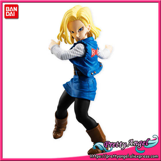 Vol.5 perttyangel-genuine bandai tamashii nations estilo dragon ball z android #18 pvc toy action figure