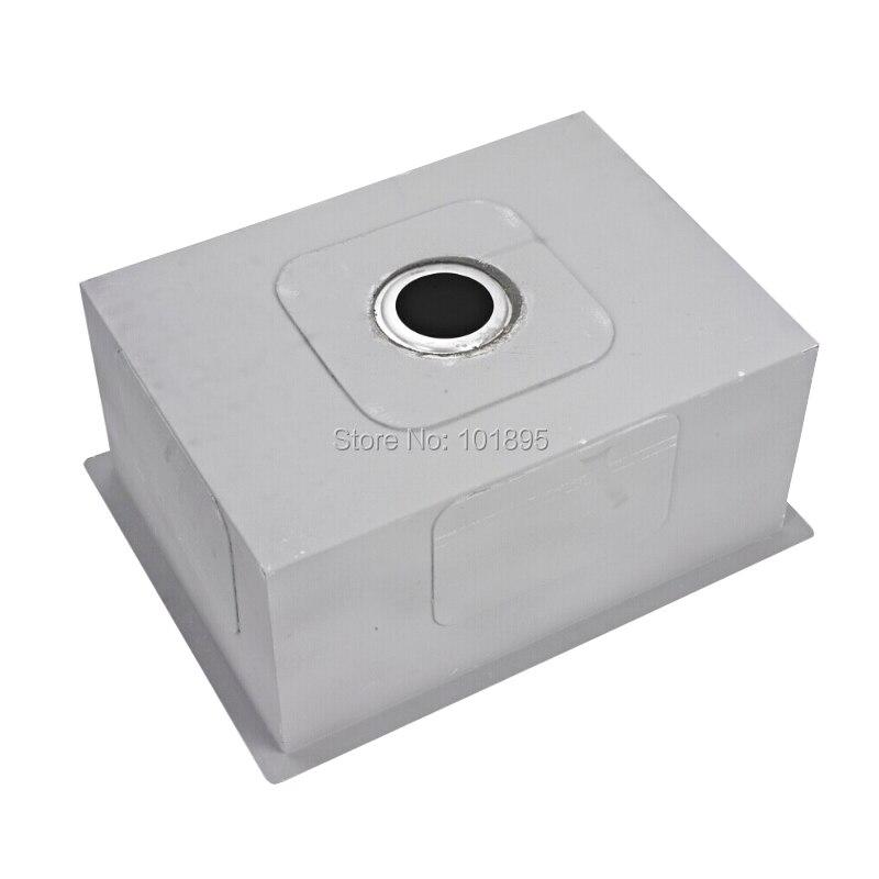 SUS304 carré en acier bol unique 600*450*254 MM évier de cuisine X26001 - 3