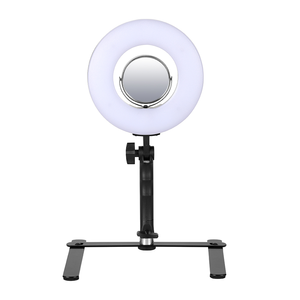 8 5500K 120 LED 24W Ring Light Professional Dimmable Photography Photo Studio Phone Video LED Ring Light Lamp For Camera yongnuo yn128 yn 128 camera photo studio phone video 128 led ring light 3200k 5500k photography dimmable ring lamp