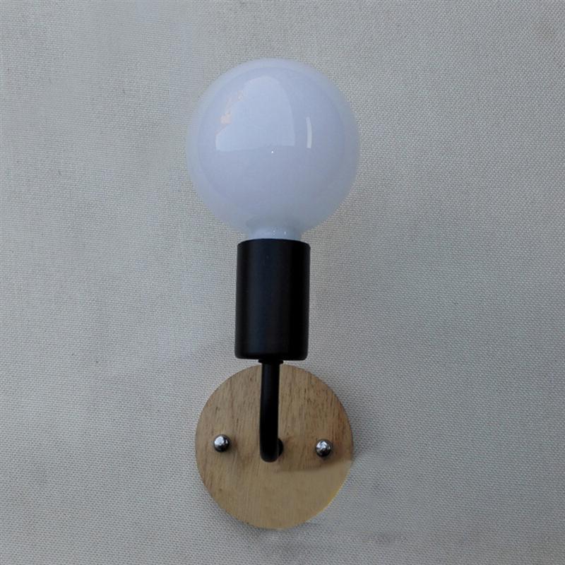 E27 6W New Nordic Art Decor Vintage LED Luminaire Wall Lamp Lampen Lights Glass Globe Ball Beanstalk Lampshade Shade Led Sconce