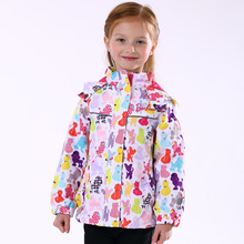 High-end Autumn Winter Child Outdoor sports Skiing Snowboard Thermal Suit Girls Padded Warm Waterproof Windproof Camping Coat