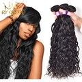 Естественная Волна Перуанский Девственные Волосы 3 Пучки Дешевого Природного Вьющиеся переплетения Человеческих Волос Перуанский Мокрый И Волнистые Переплетения Девственница Вьющиеся волос