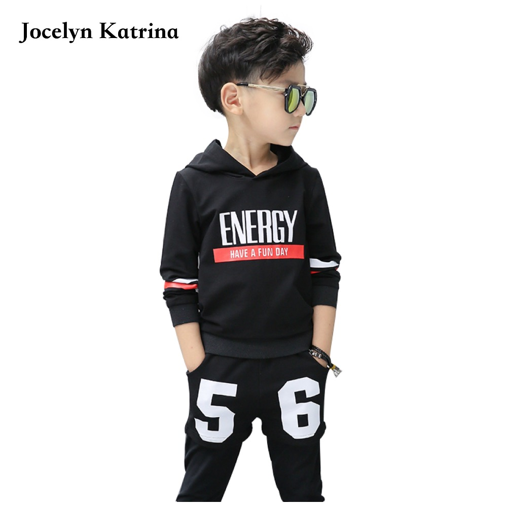 Spring Autumn Baby Boys Clothes Sets hoodies & pant 2 pcs long sleeve kid boy tracksuit Sport suit clothing set 3-14 Y 2016 baby girls boys children clothing set baby clothes long sleeve hoodies pant bodysuit kids suit free shipping