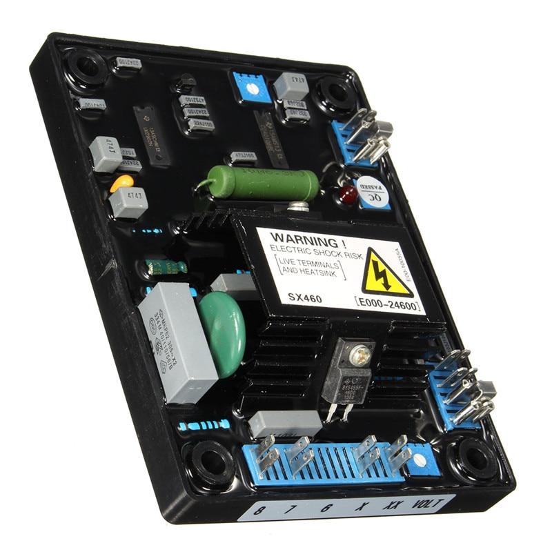 AVR SX460 Automatic Voltage Volt Regulator Replacement For Stamford Generator Single Phrase Generator Jumper Selectable Hot sale stamford generator avr sx460