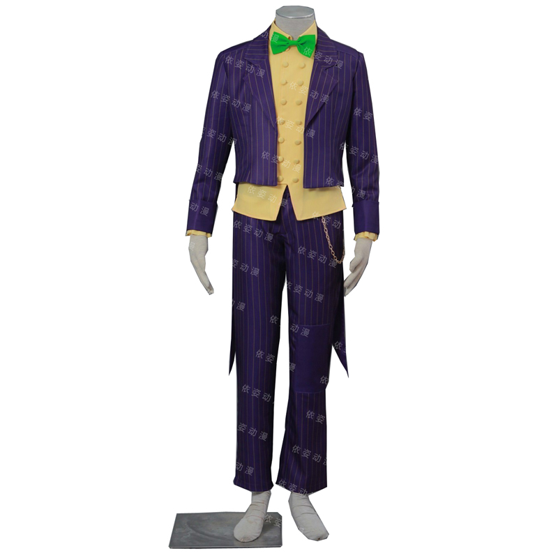 2017 Suicide Squad Cosplay Costume Joker Batman Arkham City Cosplay