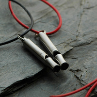 Pure Titanium Whistle Outdoor Travel Emergency Survival Supplies Flashlight Umbrella Decorative Pendants Children S Little Gift