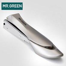 السيد. الأخضر عالية الجودة متوسطة الحجم الفولاذ المقاوم للصدأ مسمار المقص إهاب مقص مسمار أداة قص الأظافر مانيكير المتقلب مسمار أداة فنية