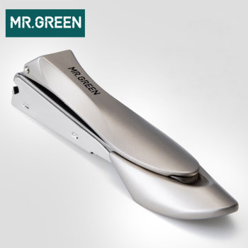 MR.GREEN high quality Medium Size Stainless Steel Nail Clipper Cuticle Scissors Nail Nail Cutter Manicure Trimmer Nail Art Tool black white large carbon steel nail clipper cutter professional manicure trimmer high quality toe nail scissors clip catcher