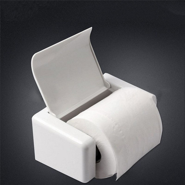 Online Shop Tenske Holder Bathroom Useful ABS Square Bathroom Toilet Classy Bathroom Paper
