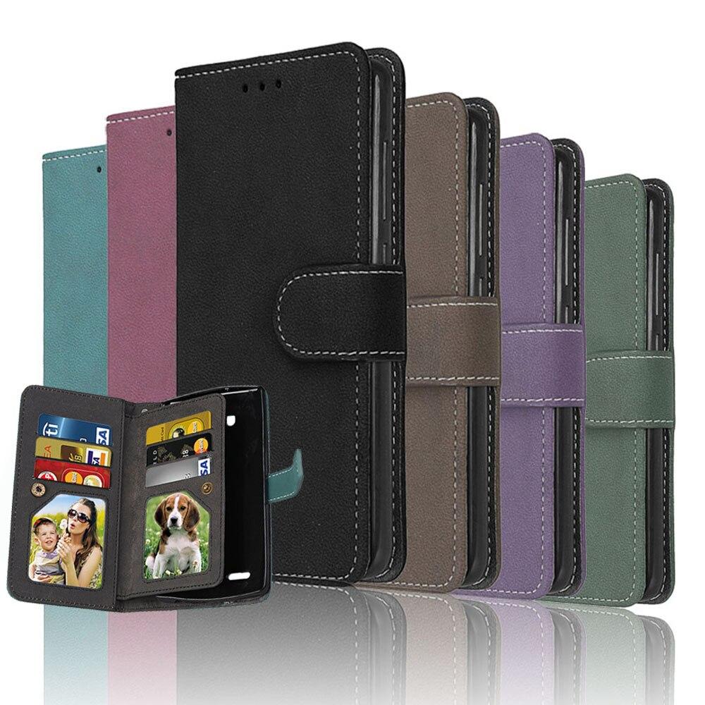 wallet flip case for motorola moto g4 plus g 4 leather. Black Bedroom Furniture Sets. Home Design Ideas