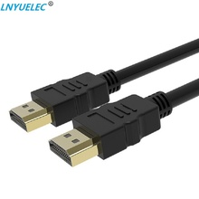 LNYUELEC HDMI Cable video cables gold plated 1.4 1080P 3D for HDTV splitter switcher 0.5m 1m 1.5m 2m 3m 5m 10m