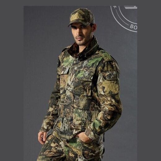 Veste de chasse Camouflage Terrain de prairie veste de chasse Camouflage tactique bionique