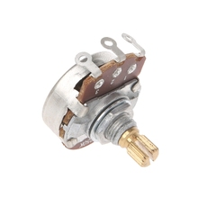 A250K потенциометр шлицевой горшок Электрогитара Бас-эффект усилитель тон громкости части