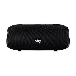 Image 3 - NBY אלחוטי Bluetooth רמקול סאב נייד רמקול עם מיקרופון חיצוני רמקול קול מערכת 10W סטריאו מוסיקה סראונד