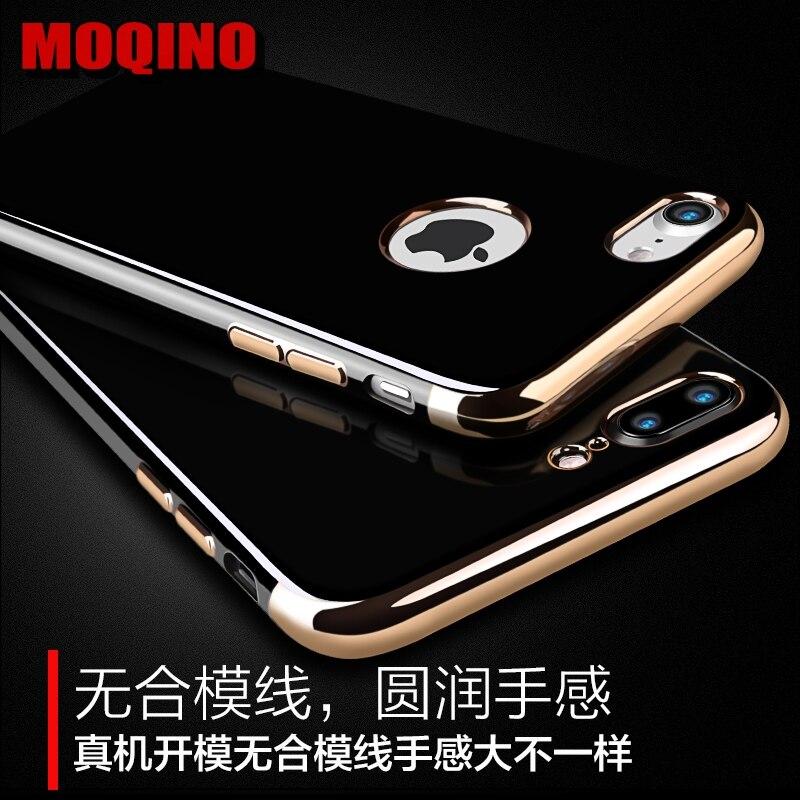 Jet Black Soft iPhone 6 6s 7 8 6 Plus 7 Plus 8Plus սիլիկոնե - Բջջային հեռախոսի պարագաներ և պահեստամասեր - Լուսանկար 4