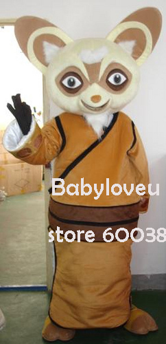 high quality adult size cartoon kungfu panda teacher mouse mascot costume mascot cosplay halloween costume christmas - Kung Fu Panda Halloween