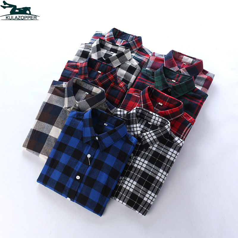 Women Plaid Blouses Shirt Body Special Offer Full 2018 New Casual Long-sleeved Large Size Loose Vintage Womens Qw74