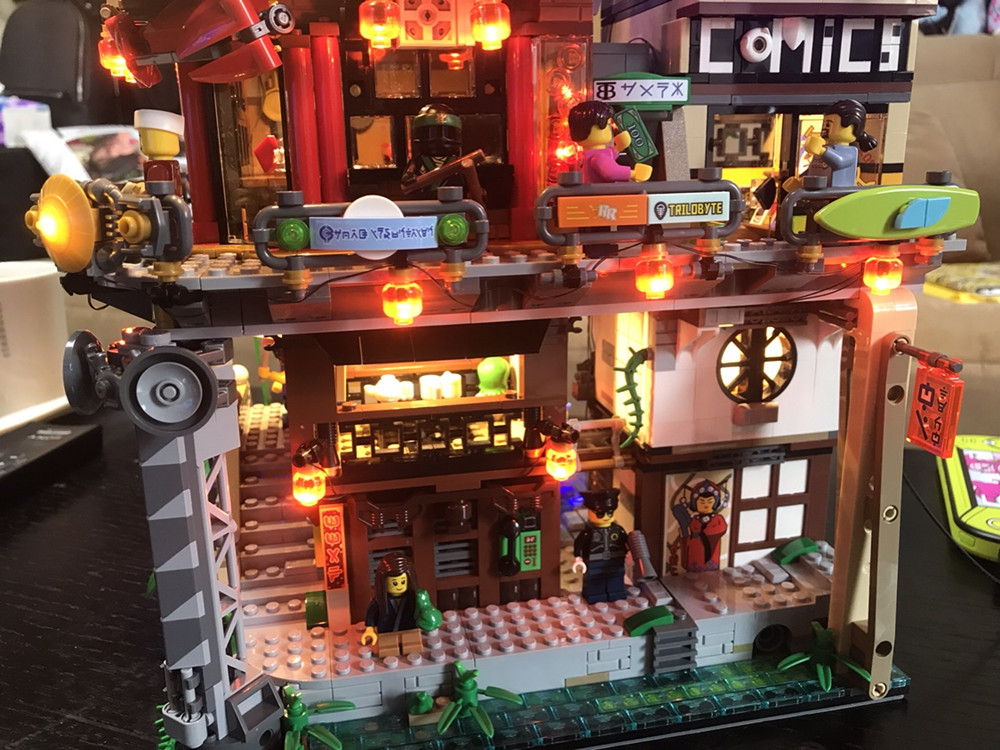 Kit illuminazione per lego: led lighting kit for lego carousel etsy