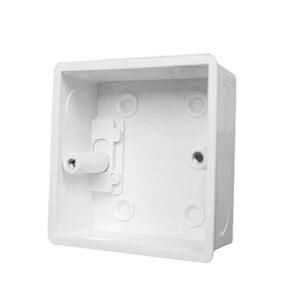 Image 3 - 10 stks Externe montage doos 80mm * 80mm * 60mm, geschikt voor 86 standaard schakelaar en stopcontact geschikt voor elke positie op de muur