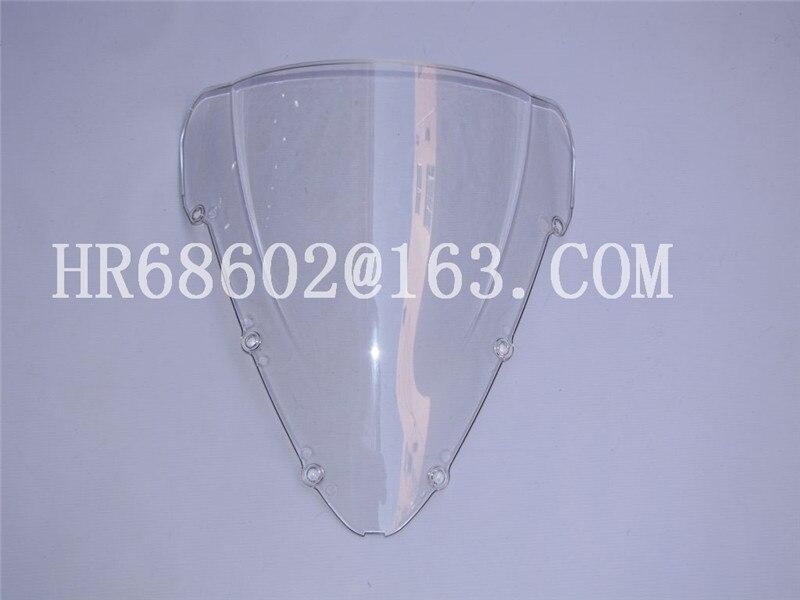 For Honda CBR 600 F4I CBR600 F4I 2001 2002 2003 2004 2005 2006 2007 01 02 03 04 05 07 White Windshield WindScreen Double Bubble цена