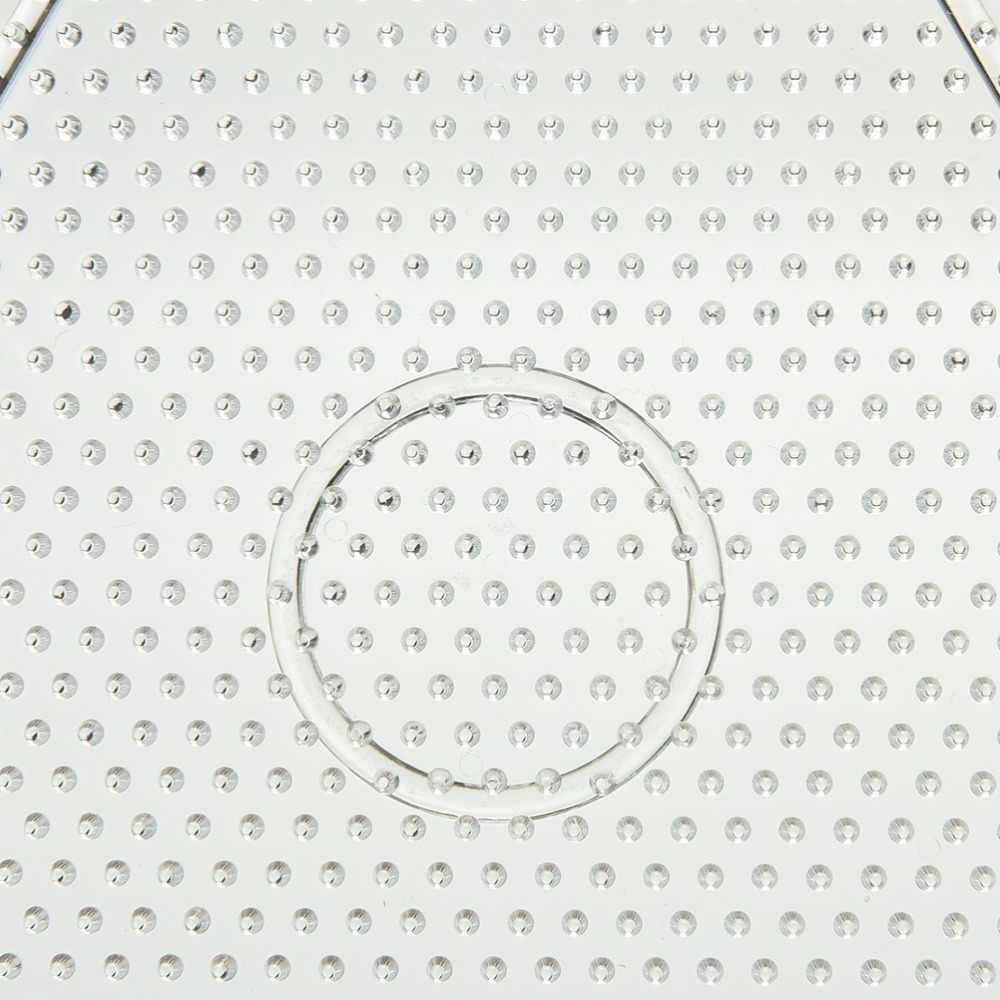 Головоломки Pegboards шаблоны мм для 5 мм Хама бусины Perler бусины DIY Дети Ремесло пластик трафарет дети предохранитель бусины игрушки