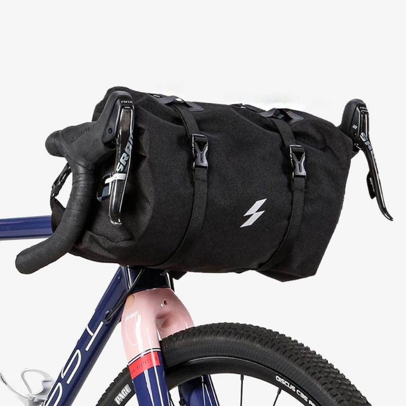 3-5L Bicycle Bike Front Tube Bag Bicycle Handlebar Basket Pack Cycling Front Frame Pannier Bag Cycling Accessories roswheel bike front tube bag waterproof bicycle handlebar basket pack cycling front frame pannier bicycle accessories