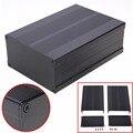 Carcasa de aluminio negro caja electrónica de circuito de proyecto PCB caja de instrumentos 150x105x55mm