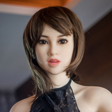 NEW! Top quaity sexy doll silicone head for 161-165cm sex dolls with artificial intelligence, oral real sex toy for men
