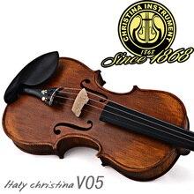 Professional Christina V05 violin, Italian handmade Antique Grading violino 4/4 musical instruments+fiddle case,bow,rosin