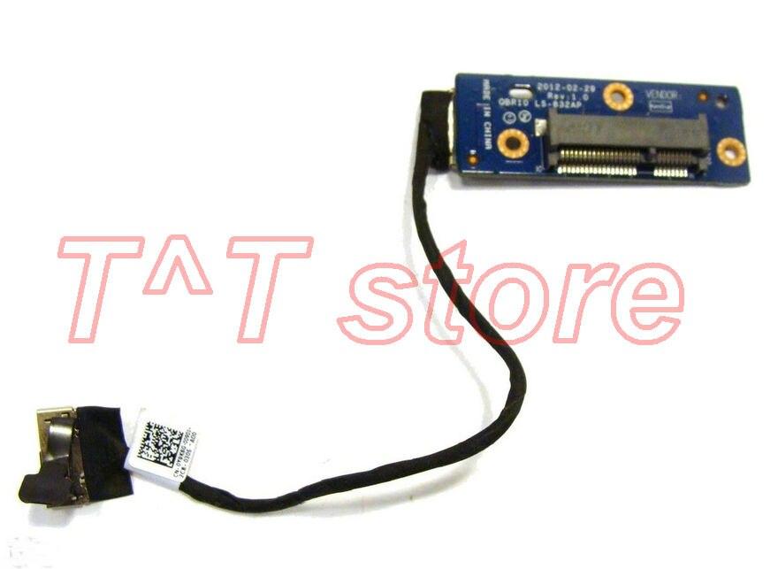 original M18x R2 SSD SATA Controller Board w Cable LS-832AP Y9K8G 0Y9K8G N22TH 0N22TH test good free shipping ssd corsair force ls cssd f240gblsb