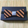 new arrival bow tie Wooden boss Bow Tie omantic men ties leisure wood bow tie