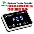 Автомобильный электронный контроллер дроссельной заслонки гоночный ускоритель мощный усилитель для Alfa Romeo Brera COUPE LHD 06-19 Тюнинг Запчасти акс...