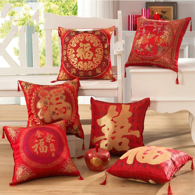 Wedding Gift China: Home Textile 2pcs/lot Cushion Wedding Gift Chair Decor 42