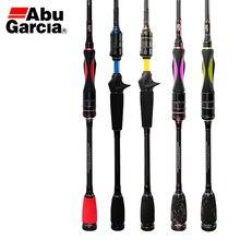 Abu Garcia STC kolory wysoka wędka węglowa 1.65 2.74m 4 i 5 sekcja L M Power Spinning Casting Travel Rod z torbą na pręt