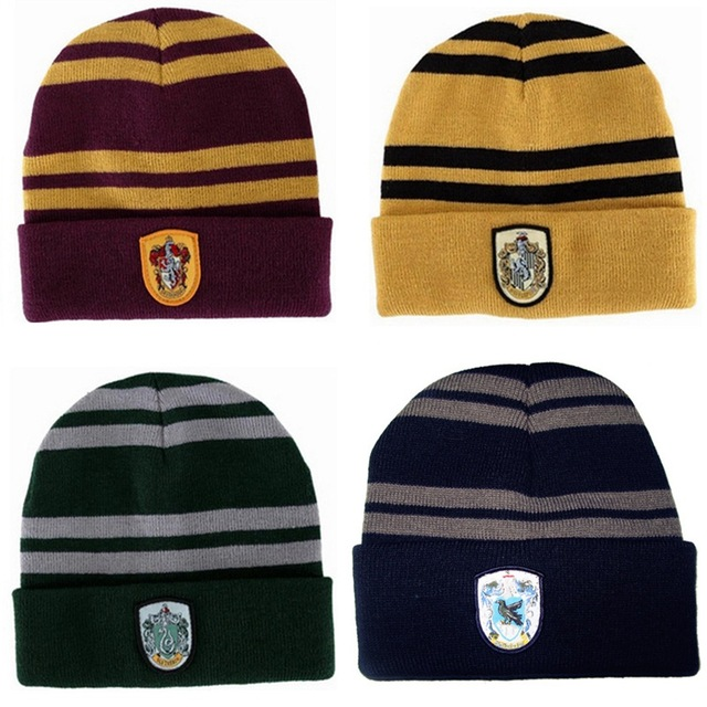 Hat Wool-Caps Potter Christmas-Gift Winter Kids Hufflepuff/ravenclaw Warm Spor WOMEN