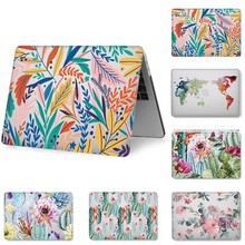 Fashion Hard Shell Laptop Case for MacBook 12 13.3 inch Retina Touch Air Pro 13 12 15 Shockproof Cover 2018Air 13 A1466 A1398