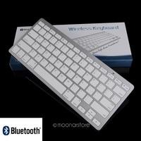 Ultra Slim Up To 10 Meter Distance Mini Bluetooth 3 0 Wireless Keyboard For IPad Free