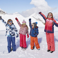 Autumn and winter new outdoor children 's boys and girls children' s jacket padded Jackets Ski Jacket cotton