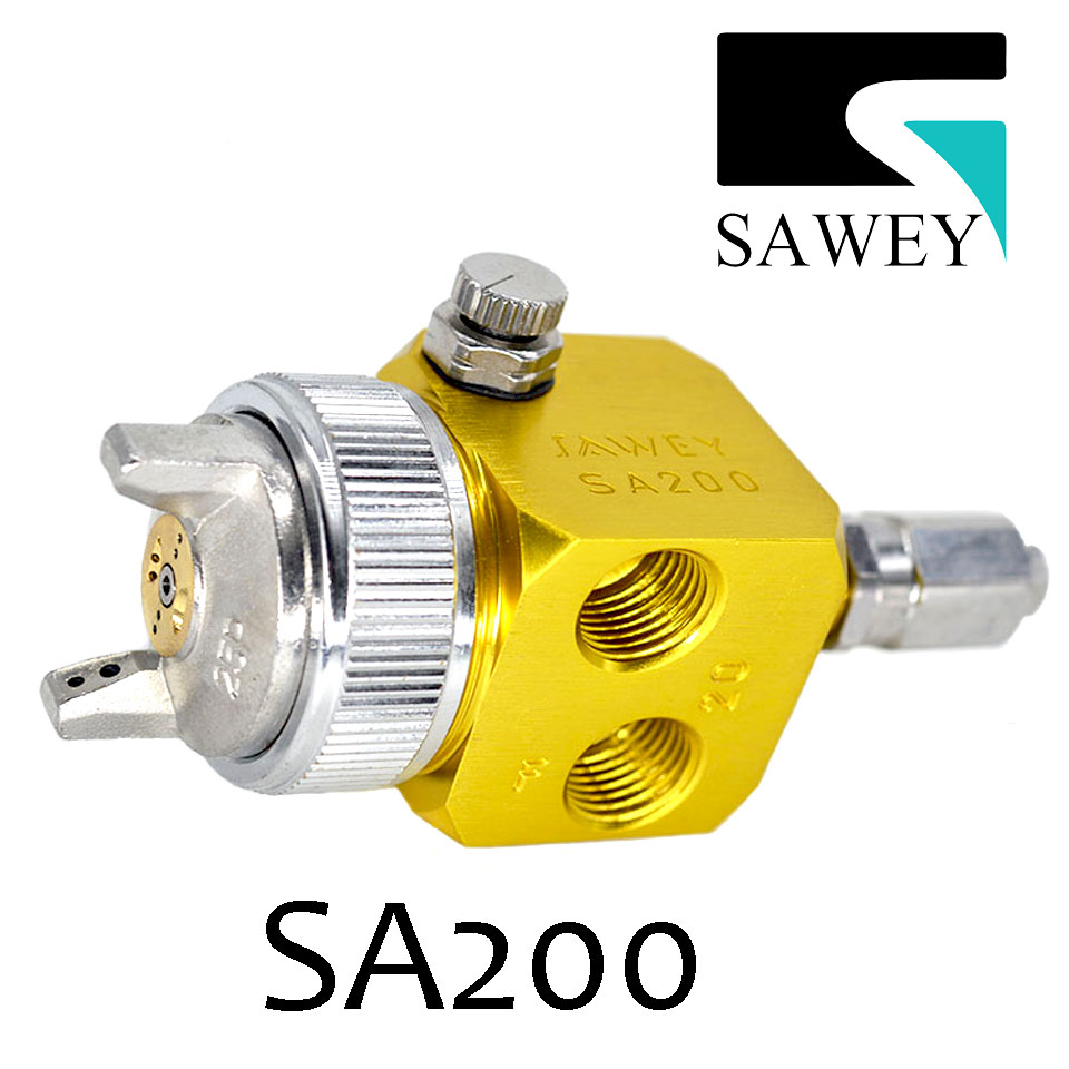 SAWEY SA-200 2.0mm auto automatic spray gun exclusive for ceramic glaze spraying,good as Japan Brand, Free shipping