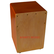 Afanti Music Basswood Natural Cajon Drum KHG 171