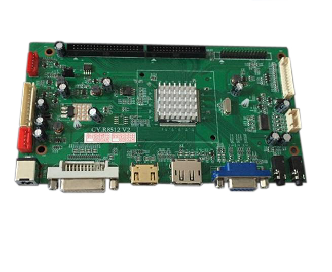 New 4K UHD panel controller board support LVDS,eDP,VByOne panel interface 3840*2160 align trex 550e three tail blade set h55t005xxw trex 550 spare parts free shipping with tracking