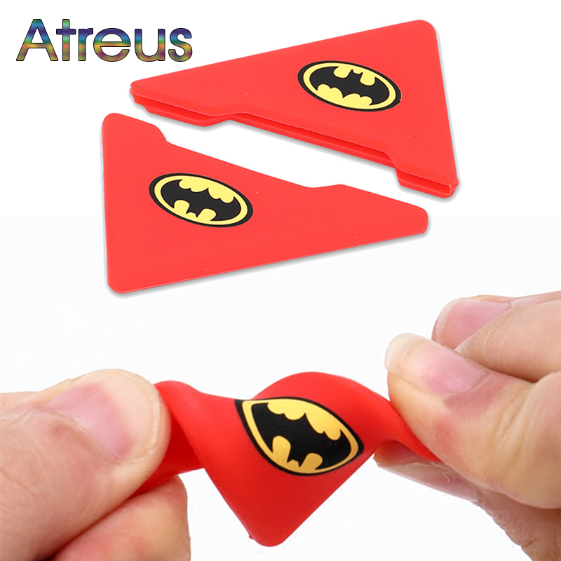 Atreus 2pc Car-Styling Car Door Protection Stickers For Toyota Corolla Seat Leon Jeep Fiat Skoda Fabia Rapid Renault Duster