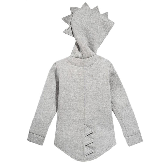 2018 New Style Jacket Baby Winter Wear  Children's Kid Baby Outerwear Jacket Dinosaur Style Hooded Headwear Coat Clothes QC3