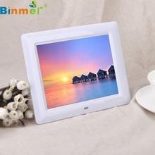 "Nueva 7 ""HD TFT-LCD Digital Photo Frame con Diapositivas Despertador MP3/4 Jugador de Calidad Superior LJJ1206"