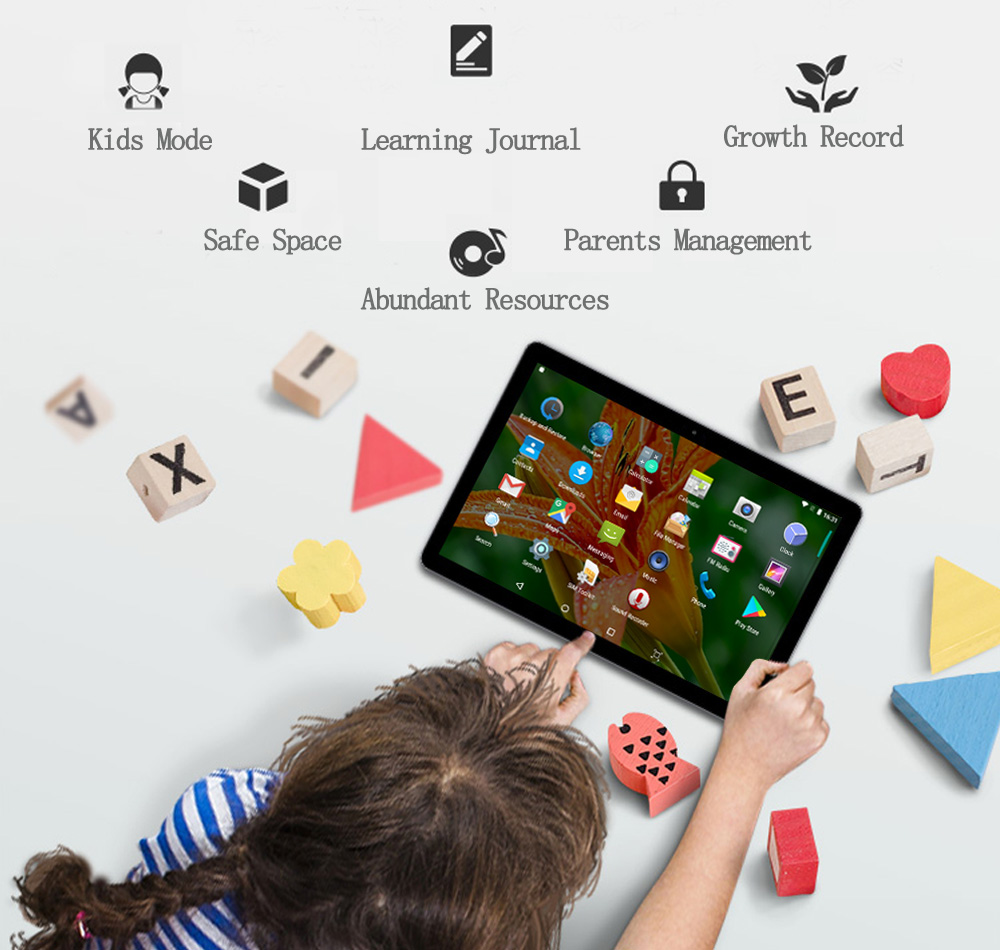 BDF 10 pulgadas 4G LTE tableta Android 11