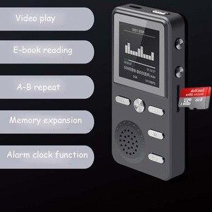 Image 4 - Jinserta Metalen 8 Gb MP3 Speler Lossless Hifi MP3 Sport Muziek Multifunctionele Fm Klok Recorder Luid Stereo Spelers Met Usb kabel